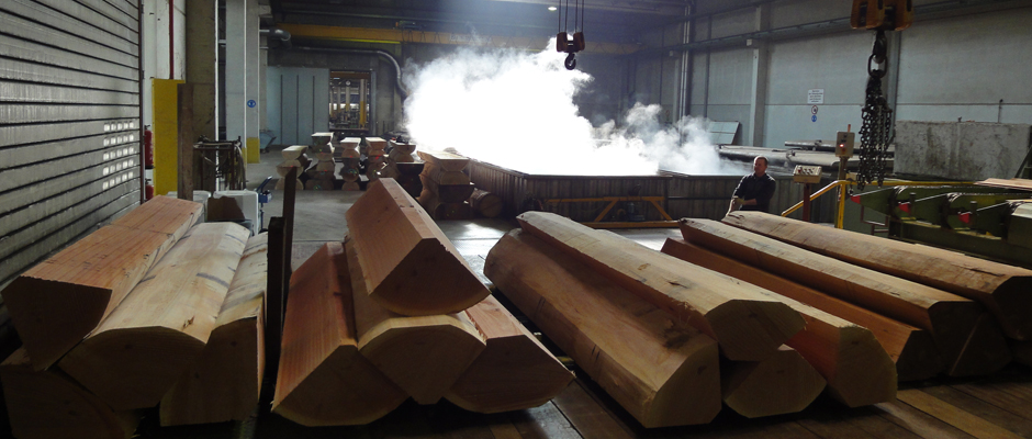 SAWMILL - VENEER LOG FLITCHES